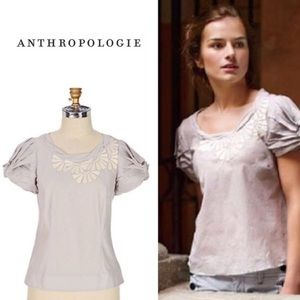 Anthropologie Floreat Meadow Squill Top Size 6